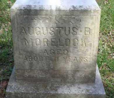 MORELOCK, AUGUSTUS B. - Washington County, Arkansas | AUGUSTUS B. MORELOCK - Arkansas Gravestone Photos