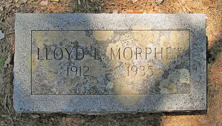 MORPHEW, LLOYD E - Washington County, Arkansas | LLOYD E MORPHEW - Arkansas Gravestone Photos