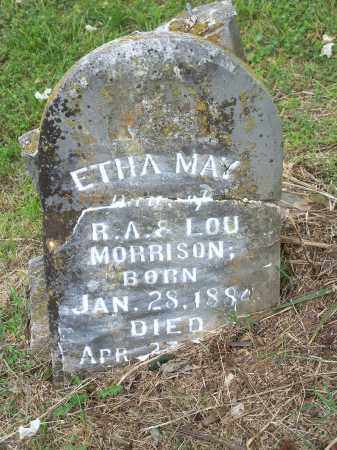 MORRISON, ETHA MAY - Washington County, Arkansas | ETHA MAY MORRISON - Arkansas Gravestone Photos
