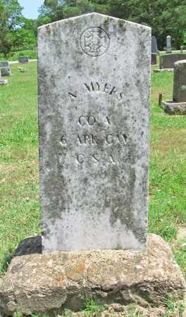 MYERS  (VETERAN CSA), ABRAHAM ANDERSON - Washington County, Arkansas | ABRAHAM ANDERSON MYERS  (VETERAN CSA) - Arkansas Gravestone Photos