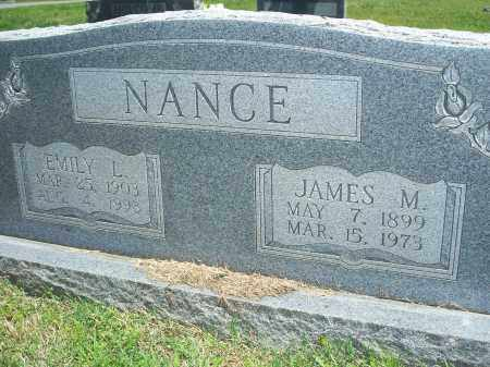 SANFORD NANCE, EMILY LUCRECIA - Washington County, Arkansas | EMILY LUCRECIA SANFORD NANCE - Arkansas Gravestone Photos