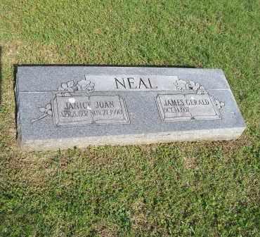 NEAL, JANICE JOAN - Washington County, Arkansas | JANICE JOAN NEAL - Arkansas Gravestone Photos