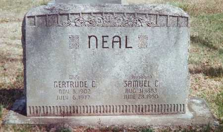 NEAL, GERTRUDE C. - Washington County, Arkansas | GERTRUDE C. NEAL - Arkansas Gravestone Photos