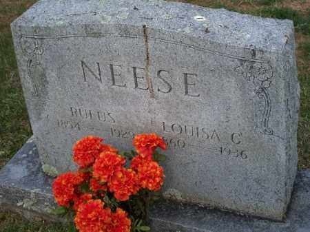 NEESE, RUFUS - Washington County, Arkansas | RUFUS NEESE - Arkansas Gravestone Photos