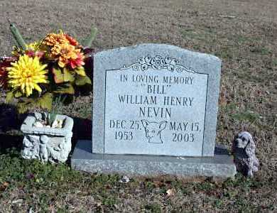 "NEVIN, WILLIAM HENRY ""BILL"" - Washington County, Arkansas 