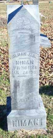 NIMAN, HULDAH JANE - Washington County, Arkansas | HULDAH JANE NIMAN - Arkansas Gravestone Photos