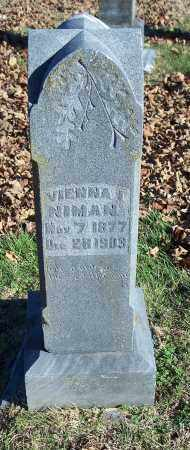 NIMAN, VIENNA I. - Washington County, Arkansas | VIENNA I. NIMAN - Arkansas Gravestone Photos