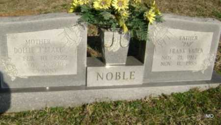 NOBLE, DOLLIE  J. - Washington County, Arkansas | DOLLIE  J. NOBLE - Arkansas Gravestone Photos