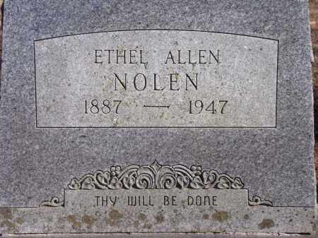 NOLEN, ETHEL - Washington County, Arkansas | ETHEL NOLEN - Arkansas Gravestone Photos