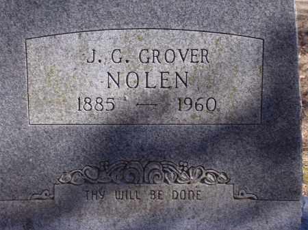NOLEN, J.G. GROVER - Washington County, Arkansas | J.G. GROVER NOLEN - Arkansas Gravestone Photos