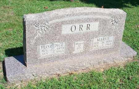 ORR, FLORENCE - Washington County, Arkansas | FLORENCE ORR - Arkansas Gravestone Photos