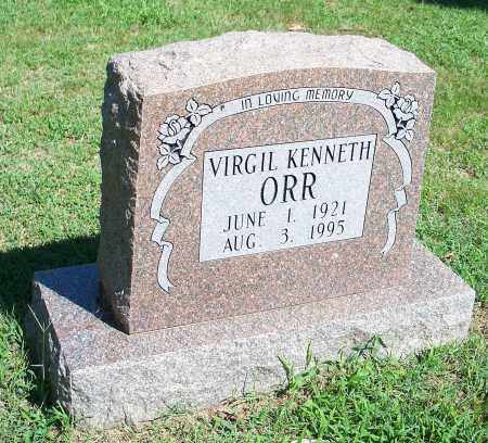 ORR, VIRGIL KENNETH - Washington County, Arkansas | VIRGIL KENNETH ORR - Arkansas Gravestone Photos
