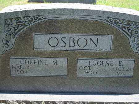 OSBON, ELMER EUGENE - Washington County, Arkansas | ELMER EUGENE OSBON - Arkansas Gravestone Photos