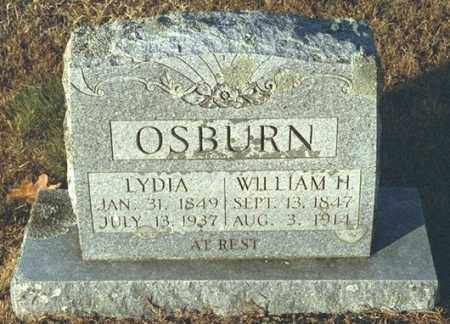 EVANS OSBURN, LYDIA - Washington County, Arkansas | LYDIA EVANS OSBURN - Arkansas Gravestone Photos