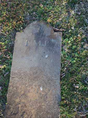 P . (FOOTSTONE), E.M. - Washington County, Arkansas | E.M. P . (FOOTSTONE) - Arkansas Gravestone Photos