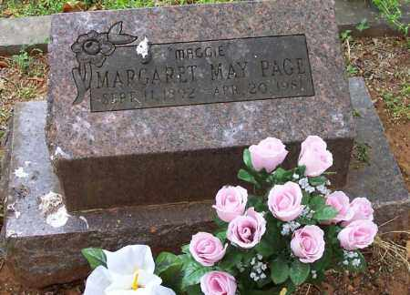 PAGE, MARGERET MAY - Washington County, Arkansas | MARGERET MAY PAGE - Arkansas Gravestone Photos