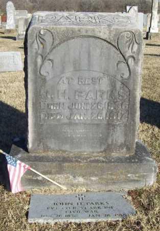 PARKS (VETERAN CSA), JOHN HAMILTON - Washington County, Arkansas | JOHN HAMILTON PARKS (VETERAN CSA) - Arkansas Gravestone Photos