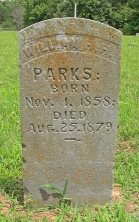 PARKS, WILLIAM H.H. - Washington County, Arkansas | WILLIAM H.H. PARKS - Arkansas Gravestone Photos