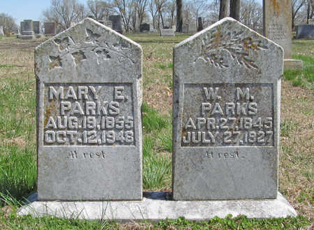PARKS, W M - Washington County, Arkansas | W M PARKS - Arkansas Gravestone Photos