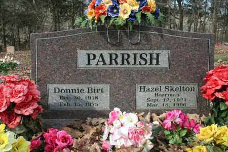 PARRISH, DONNIE - Washington County, Arkansas | DONNIE PARRISH - Arkansas Gravestone Photos