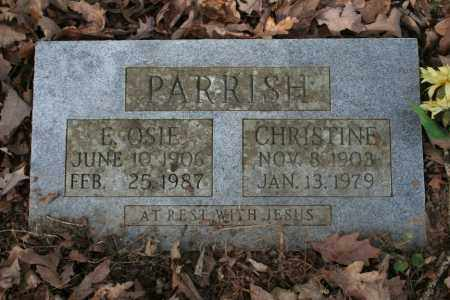 PARRISH, E. OSIE - Washington County, Arkansas | E. OSIE PARRISH - Arkansas Gravestone Photos