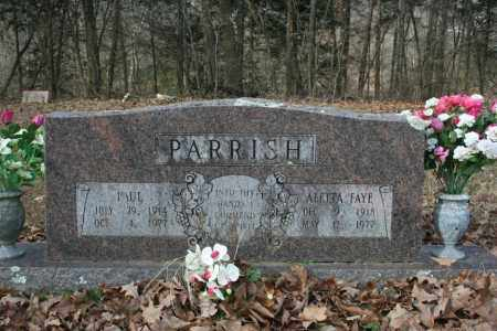 PARRISH, ALETTA FAYE - Washington County, Arkansas | ALETTA FAYE PARRISH - Arkansas Gravestone Photos