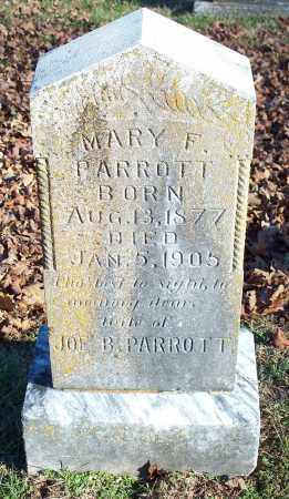 PARROTT, MARY F. - Washington County, Arkansas | MARY F. PARROTT - Arkansas Gravestone Photos