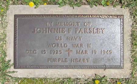 PARSLEY (VETERAN, KIA), JOHNNIE F - Washington County, Arkansas | JOHNNIE F PARSLEY (VETERAN, KIA) - Arkansas Gravestone Photos