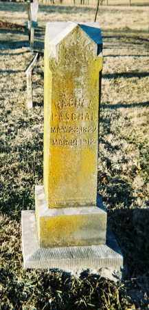 PASCHAL, RACHEL - Washington County, Arkansas | RACHEL PASCHAL - Arkansas Gravestone Photos