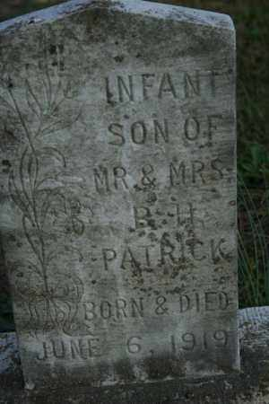 PATRICK, INFANT SON - Washington County, Arkansas | INFANT SON PATRICK - Arkansas Gravestone Photos
