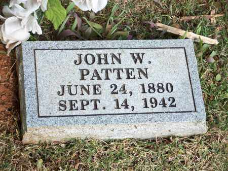 PATTEN, JOHN W. - Washington County, Arkansas | JOHN W. PATTEN - Arkansas Gravestone Photos