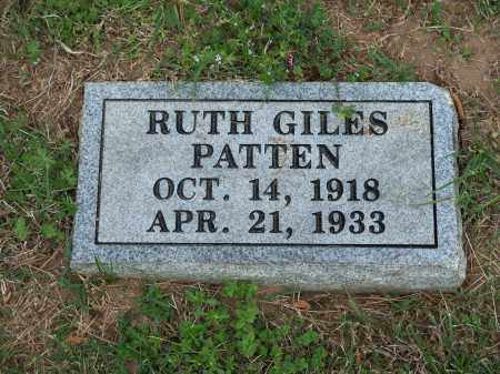 PATTEN, RUTH - Washington County, Arkansas | RUTH PATTEN - Arkansas Gravestone Photos
