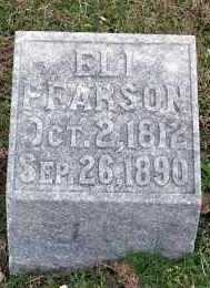 PEARSON, ELI - Washington County, Arkansas | ELI PEARSON - Arkansas Gravestone Photos