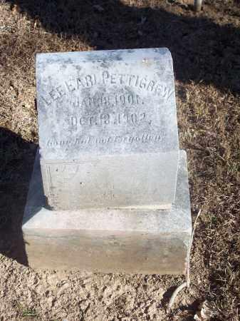 PETTIGREW, LEE EARL - Washington County, Arkansas | LEE EARL PETTIGREW - Arkansas Gravestone Photos