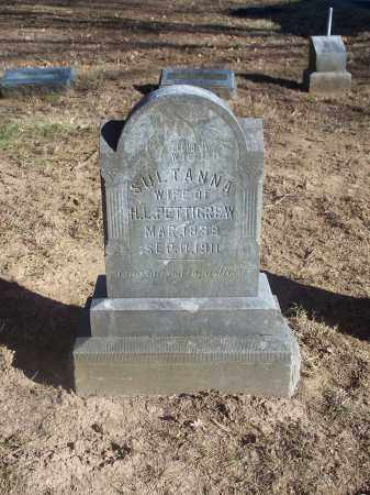 PETTIGREW, SULTANNA - Washington County, Arkansas | SULTANNA PETTIGREW - Arkansas Gravestone Photos