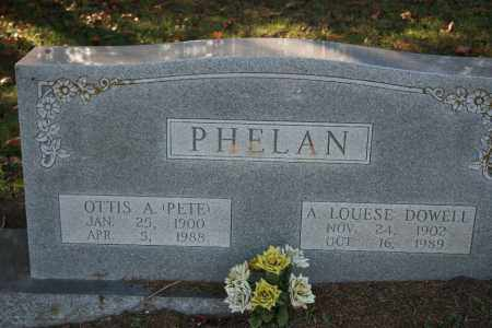 PHELAN, OTTIS A. (PETE) - Washington County, Arkansas | OTTIS A. (PETE) PHELAN - Arkansas Gravestone Photos