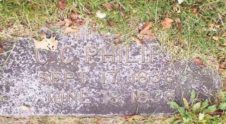 PHILIPS, MARTHA ESTHER - Washington County, Arkansas | MARTHA ESTHER PHILIPS - Arkansas Gravestone Photos