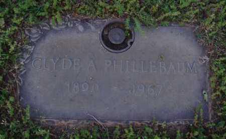 PHILLEBAUM, CLYDE A. - Washington County, Arkansas | CLYDE A. PHILLEBAUM - Arkansas Gravestone Photos