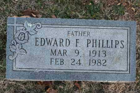 PHILLIPS, EDWARD F. - Washington County, Arkansas   EDWARD F. PHILLIPS - Arkansas Gravestone Photos