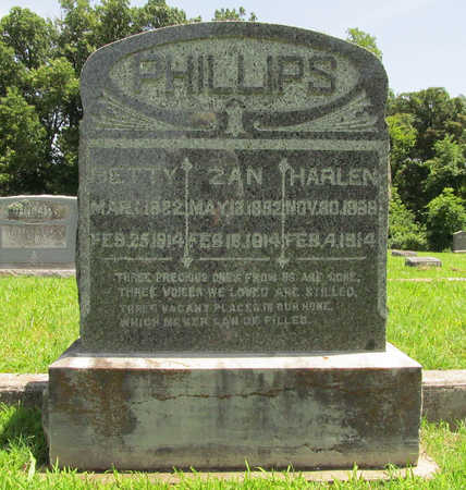 PHILLIPS, ZAN - Washington County, Arkansas | ZAN PHILLIPS - Arkansas Gravestone Photos