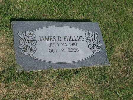 PHILLIPS, JAMES D. - Washington County, Arkansas | JAMES D. PHILLIPS - Arkansas Gravestone Photos