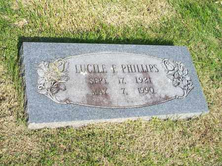 PHILLIPS, LUCILE F. - Washington County, Arkansas | LUCILE F. PHILLIPS - Arkansas Gravestone Photos