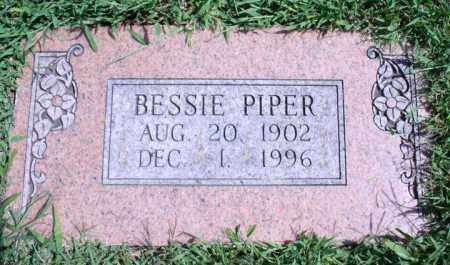 PIPER, BESSIE - Washington County, Arkansas | BESSIE PIPER - Arkansas Gravestone Photos