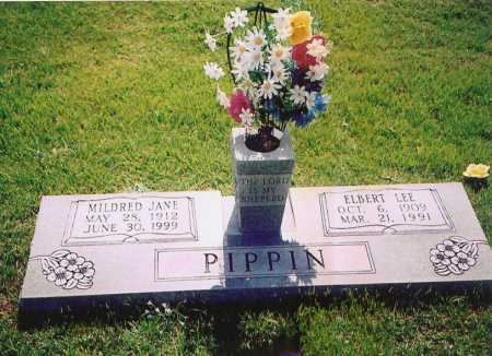 PIPPIN, ELBERT LEE - Washington County, Arkansas | ELBERT LEE PIPPIN - Arkansas Gravestone Photos