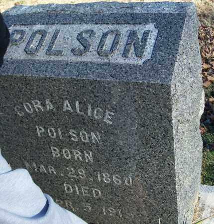 POLSON, CORA ALICE - Washington County, Arkansas | CORA ALICE POLSON - Arkansas Gravestone Photos