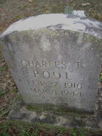 POOL,, CHARLES T. - Washington County, Arkansas | CHARLES T. POOL, - Arkansas Gravestone Photos