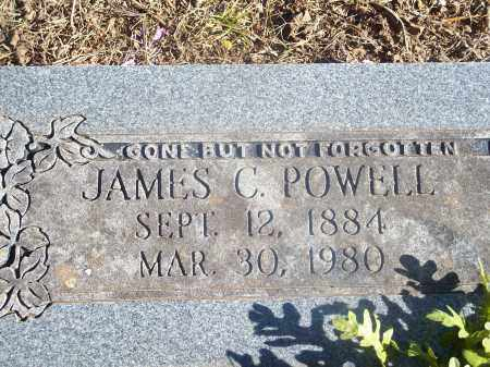 POWELL, JAMES C. - Washington County, Arkansas | JAMES C. POWELL - Arkansas Gravestone Photos