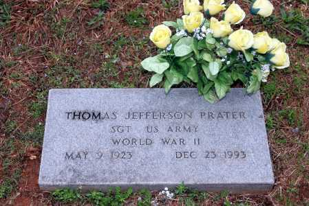 PRATER (VETERAN WWII), THOMAS JEFFERSON - Washington County, Arkansas | THOMAS JEFFERSON PRATER (VETERAN WWII) - Arkansas Gravestone Photos