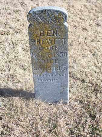 PREWITT, BEN - Washington County, Arkansas | BEN PREWITT - Arkansas Gravestone Photos