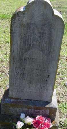 PRICE, L. JANE - Washington County, Arkansas | L. JANE PRICE - Arkansas Gravestone Photos
